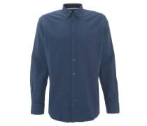Freizeithemd, Modern Fit, Button-Down-Kragen, Brusttasche, Blau