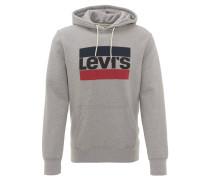 Sweatshirt, Logo-Print, Kapuze