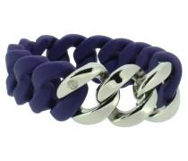 """Armband """"Original"""" 107767 Edelstahl nachtblau silber"""