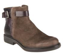 Boots, Leder, Reptil-Prägung