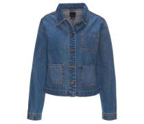 Jeansjacke, Taschen, Knopfleiste, Baumwolle