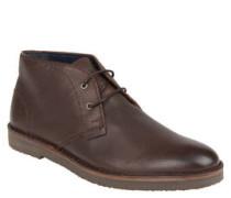 Desert-Boots, Kreppsohle, Strukturleder