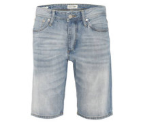 Jeansshorts, Regular Fit, Button Fly