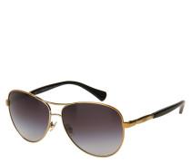 "Sonnenbrille ""RA 4117 313311"", Piloten-Stil, Verlaufsgläser"