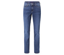 "Jeans ""Marilyn"", Straight Fit, Blau"