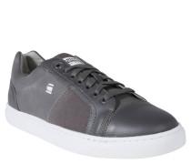 Sneaker, Material-Mix, Label-Details, Grau