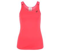 Top, kühlend, Perforation, für Damen, Pink
