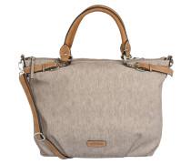 Handtasche, Struktur, Kurzgriffe, Grau