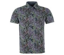 Poloshirt, Muster-Mix, Reine Baumwolle, Blau