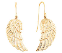 Ohrhänger Flügel vergoldet ERE-WING-G