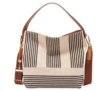 """Handtasche """"Maya Small Hobo Black Stripe"""", Streifen, Mehrfarbig"""