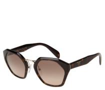 """Sonnenbrille """"SPR 04T"""", sechseckige Form, Metall-Steg"""
