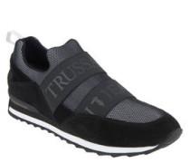 Sneaker, Materialmix, elastische Bänder