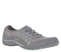 Sneaker, Leder-Details, Memory Foam, Quicklace