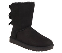 """Boots """"Bailey Bow II"""", Veloursleder, Lammfellfutter, Schwarz"""