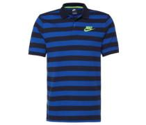 Poloshirt, Streifen-Design, Knopfleiste, für Herren