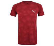 T-Shirt, leichter Strick, schnelltrocknend, für Herren, Rot