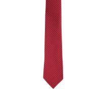 Krawatte, reine Seide, ornamentales Muster