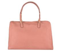 """Handtasche """"Zalia"""", weiches Leder, goldfarbene Details, Rosa"""
