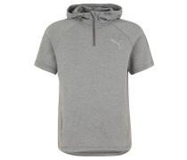 "T-Shirt ""Evostripe LightKnit"", Kapuze, für Herren, Grau"