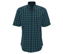 Freizeithemd, Kurzarm, Brusttasche, Grün
