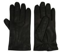 Handschuhe, Ziegenleder, gefüttert, Ziernähte