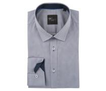 Hemd, Kent-Kragen, reine Baumwolle