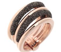 Ring rosé Polvere marrone, Serie Polvere di Sogni, WPLVA724M