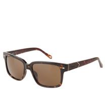 "Sonnenbrille ""FOS 2041/S"", Havana-Stil, Kareé-Form"