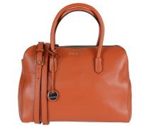 """Handtasche """"Clementine"""", Leder, Anhänger, Orange"""
