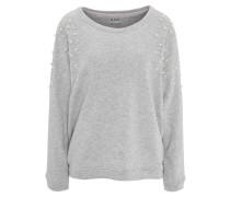 Sweatshirt, Perlen-Besatz
