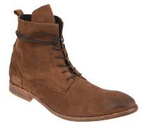 "Boots ""Swathmore"", Veloursleder, Used-Look, Braun"