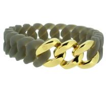 "Armband ""Mini"" 107721 Edelstahl grau gold"