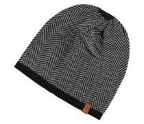 Mütze, Fischgrät-Muster