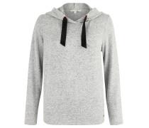 "Sweatshirt ""Cosy"", Kapuze, Feinstrick, Grau"