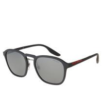 """Sonnenbrille """"SPS02S"""", matt, eckige Form, Doppelsteg"""