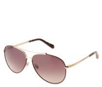 """Sonnenbrille """"FOS 20000/L/S"""", Piloten-Stil, Doppelsteg"""