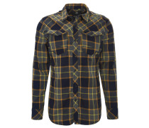 """Freizeithemd """"ARC 3D Shirt"""", Slim Fit, Flanell, Brusttaschen, Blau"""