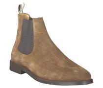"""Chelsea Boots """"Max"""", Rauleder, Leder-Innenmaterial, Braun"""