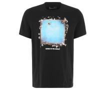 """T-Shirt """"Ali RNTJ In The Ring"""", Foto-Print, für Herren, Schwarz"""
