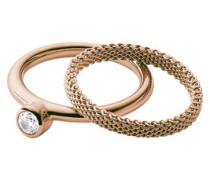 """Ring, """"Elin"""", 2-teilig, Edelstahl, SKJ0852791"""