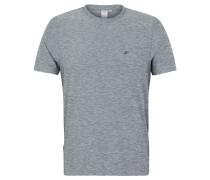 T-Shirt, meliert, atmungsaktiv, für Herren, Grau