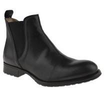"""Chelsea Boots """"Garda"""", Leder, elastische Einsätze, Fersenlasche, Schwarz"""