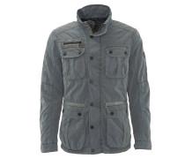 Jacke, viele Taschen, leicht, Grau