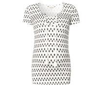 """Still-Shirt """"Faith"""", Geometrisch, Weiß"""