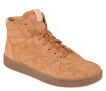 Sneaker, hoch, gepolstert