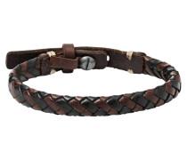 Armband Leder Bicolor JA59327