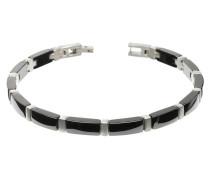 Armband Titan mit Keramik schwarz 0371-04