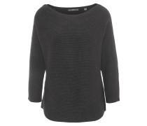 Pullover, Carmen-Ausschnitt, Fledermausärmel, Schwarz