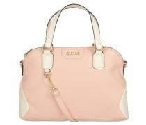 Handtasche, Tragegriffe, abnehmbarer Schulterriemen, Rosa